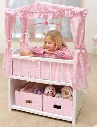 Badger Basket Armoire Badger Basket Canopy Doll Crib With Baskets Bedding U0026 Mobile Online