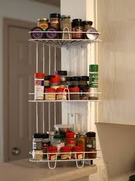 Wall Cabinet Spice Rack Free Standing Wire Spice Shelves Organizing Spices Use Creative