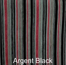 Striped Upholstery Fabric Black Red Luxury Stripe Chenille Upholstery Fabric