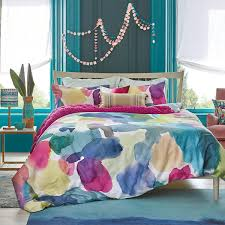 rothesay duvet cover abstract large scale floral bedding