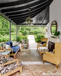 Wood Porch Ceiling Material by 30 Best Porch Decorating Ideas Summer Porch Design Tips