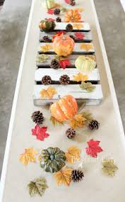 Fall Table Decor Fall Table Runner Easy Fall Table Decor The Crazy Craft Lady