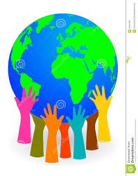 globe hands holding up a globe royalty free stock photo image 23561265