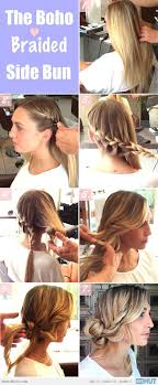 easy messy buns for shoulder length hair graceful and beautiful low side bun hairstyle tutorials and hair