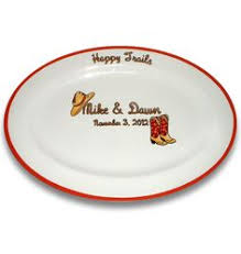 signable wedding platters custom painted wedding platter as you wish pottery wedding