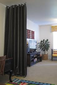 Curtain Hanging Ideas Ideas Ceiling Hanging Curtain Room Dividers Home Design Ideas