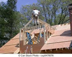 Gabled Dormer Stock Image Of Building A Dormer Constructing A Gable Dormer To