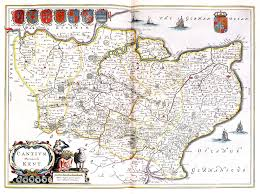 Map Of Kent England by Atlas Maior Vol 5 Z 1 26 Blaeu 1662 England U0026 Wales U2013 L Brown