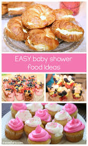 baby shower food ideas for a best shower