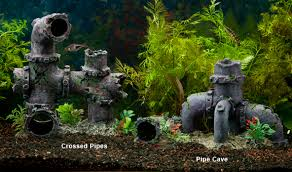 yup pipe aquarium décor aquarium decorations ornaments