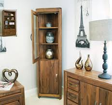 linea solid walnut home furniture glazed corner display cabinet linea solid walnut home furniture glazed corner display cabinet unit