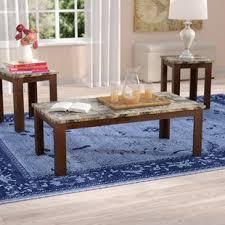 Coffee And End Table Set Lighted Vanity Table Set Wayfair