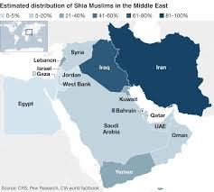 middle east map with country name sunnis and shia islam s ancient schism news