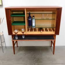 Teak Bar Cabinet Teak Cocktail Bar Cabinet Kurt østervig Simplymod Mid