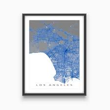 map usa la 16 best la map images on los angeles map maps and posters