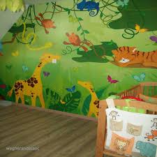 chambre jungle bébé le plus frais stickers jungle chambre garcon wegherandassoc