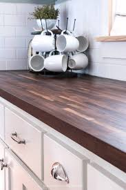 what color countertops with walnut cabinets how i protect my butcher block countertops serving up southern