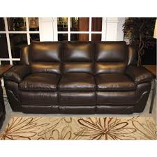 Reclining Leather Chair Reclining Leather Sofa W Power E1167 119 Chocolate Furniture