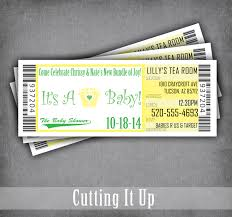 baby shower sports invitations sports baby shower ticket invitations gender reveal