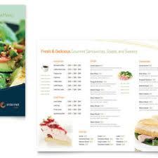 lunch menu microsoft word template helloalive