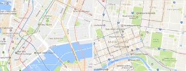 melbourne tram map melbhattan how melbourne s tram could be its version of