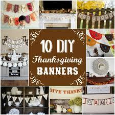 burlap thanksgiving banner 10 diy thanksgiving banners
