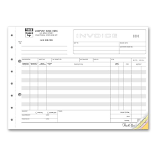 Flooring Invoice Template by Carbonless Invoice Forms Designsnprint
