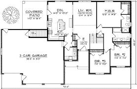 ranch style homes floor plans attraktiv ranch style house plans 5 badcantina com