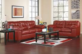 salsa bonded leather sofa