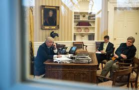 Trump In The Oval Office In Flynn U0027s Fall Signs Of Potentially Deeper Problem In Trump U0027s