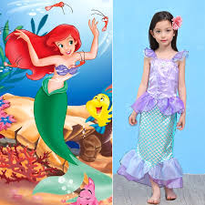 Mermaid Halloween Costume Kids Cheap Mermaid Tails Children Dress Mermaid Kids Costume