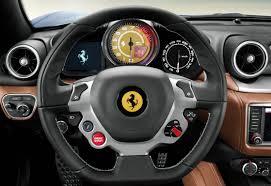 ferrari steering wheel 2014 ferrari california t review