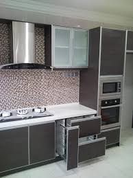 kitchen cozy small kitchen design for condo with wood laminated