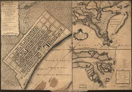 Map Of The French Quarter In New Orleans by Plan Of New Orleans The Capital Of Louisiana With The Disposition