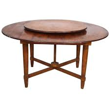 round dining table with lazy susan dining tables