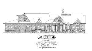 chestatee river cottage house plan house plans by garrell