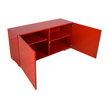 69 off cb2 cb2 fuel credenza in red storage