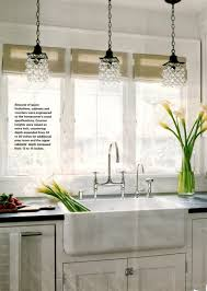 glass pendant light over kitchen island clear lights lighting