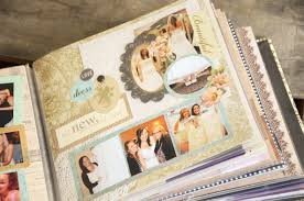 scrapbook wedding unique gift idea for the bridal beauty scrapbook of all the