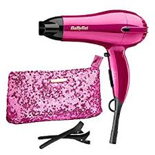 light pink hair dryer babyliss 2000 w shimmer collection limited edition hair dryer set