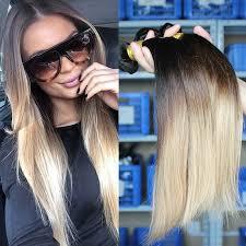 ombre hair extensions ombre hair extensions three tone 1b 4 27 malaysian hair