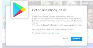 deal alert check your email is giving free audiobooks to