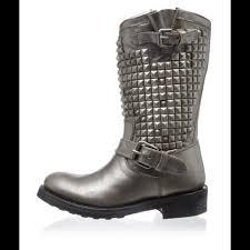 womens biker boots size 9 51 ash boots ash trash biker boots size 9 40 piombo