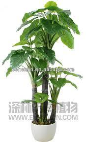 Indoor Plant For Office Desk Indoor Outdoor Fake Artificial Scindapsus Floor Plants For Office