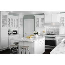 decorators white painted kitchen cabinets home decorators collection brookfield assembled 24x90x24 in
