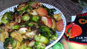 thanksgiving brussels sprout recipe sweet and nutty flavors
