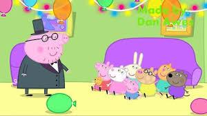 peppa pig english episodes edmond elephant u0027s birthday hd video