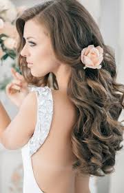 Hochsteckfrisurenen Offene Haare by Die Besten 25 Hochzeitsfrisuren Offene Haare Ideen Auf