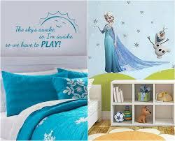 chambre reine des neiges déco chambre enfant sur le thème de la reine des neiges