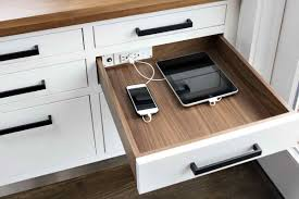desk power outlet kitchen island electrical outlet with design of drawer desk also